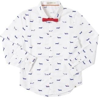 Billybandit Printed Cotton Poplin Shirt