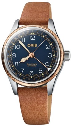 Oris Stainless Steel Big Crown Watch 36mm