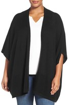 Sejour Plus Size Women's Wool & Cashmere Shawl