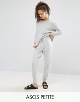 Asos LOUNGE Co ord Knitted Joggers in Fluffy Yarn