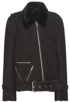 Public School Cavallo Shearling-lined Suede Jacket
