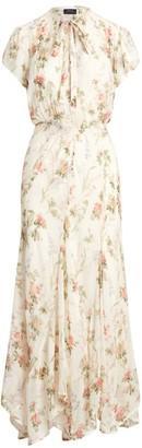 Ralph Lauren Floral Short-Sleeve Dress