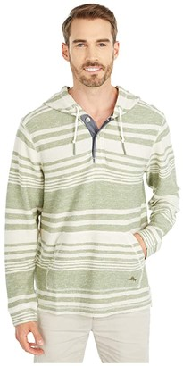 Tommy Bahama Big Bay Baja Pullover (Dusty Thyme) Men's Clothing