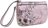 Mkf Collection By Mia K. MKF Collection by Mia K. Women's Clutches - Pink & Black Floral Wristlet