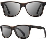Shwood 'Canby' 55mm Acetate & Wood Sunglasses