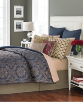 CLOSEOUT! Martha Stewart Collection Rosario 14 Piece Queen Comforter Set