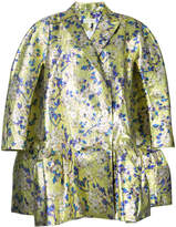 DELPOZO floral loose-fit jacket