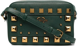 Love Moschino Square Studded Shoulder Bag