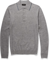 Paul Smith London Merino Wool Polo Shirt