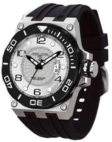 Jorg Gray Men's Quartz Watch with Silver Dial Analogue Display and Silver Stainless Steel Bracelet JG9600-11