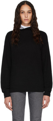 Won Hundred Black Catherine Crewneck Sweater