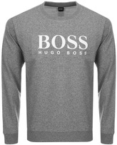 HUGO BOSS Logo Sweatshirt Grey