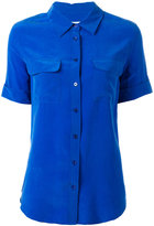 Equipment chest pockets shortsleeved shirt - women - Silk - XS