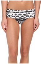 Badgley Mischka Aliyah Shirred Brief