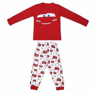 Artesania Cerda Boy's Pijama Largo Cars Pyjama Sets