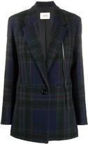 Schumacher Dorothee checked tweed blazer