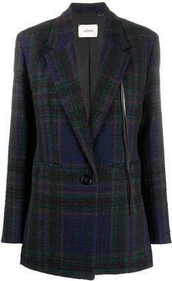 Dorothee Schumacher Checked Tweed Blazer