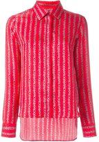Carven printed shirt - women - Silk - 36
