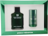 Paco Rabanne by Gift Set for MEN: EDT SPRAY 3.4 OZ & DEODORANT STICK 2.2 OZ