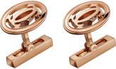 Cartier Double C Logo 18ct Pink-gold Cufflinks