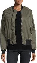 Hudson Gene Bomber Jacket, Trooper Green