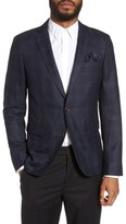Sand Men's Trim Fit Wool Sport Coat