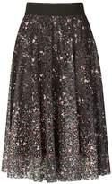 Izabel London *Izabel London Multicoloured Floral Fit and Flare Skirt