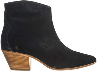 Isabel Marant New Dickers Heeled Ankle Boots