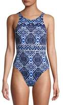 Tommy Bahama One-Piece Printed Swimsuit
