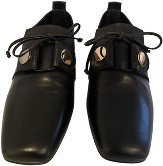 Pierre Hardy Black Leather Lace ups