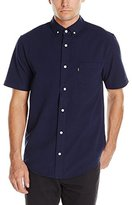 HUF Men's Madison Short-Sleeve Woven Shirt