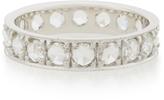 Ila Noales 14K White Gold And Diamond Ring