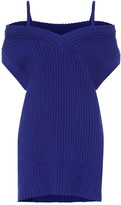 Maison Margiela Rib-knit cotton sweater vest