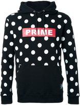 GUILD PRIME polka dot hoodie - men - Cotton - 1