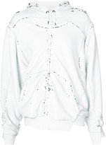 A.F.Vandevorst Felicity zipped hoodie