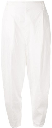Masnada wide leg tapered trousers