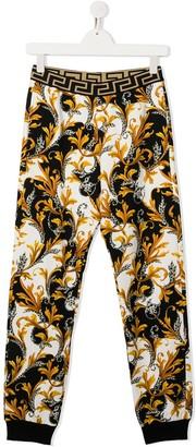 Versace Baroque-Print Sweatpants