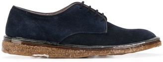 Premiata distressed Yankee lace-up shoes