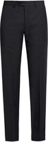 Giorgio Armani Straight-leg wool trousers