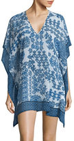 Tommy Bahama Stamped Medallion Printed Tunic