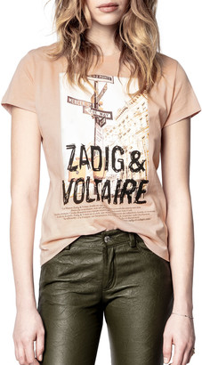 Zadig & Voltaire Zoe Photo-Print T-Shirt
