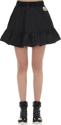 MONCLER GENIUS Simone Rocha Micro Taffeta Mini Skirt