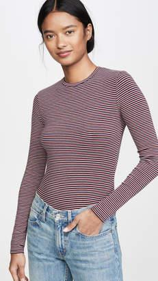 Madewell Stripe Thong Bodysuit