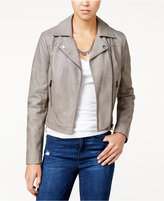 American Rag Faux-Leather Moto Jacket, Only at Macy's