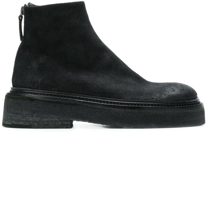 Low Heel Platform Boots | Shop the