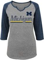 NCAA Juniors' Michigan Wolverines Over the Line Tee