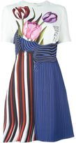 Mary Katrantzou 'Alli' flared dress - women - Silk/Cotton - 12