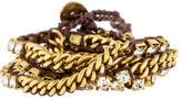 Chan Luu Crystal Wrap Bracelet