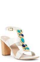 Trina Turk Silver Lake Stacked Heel Sandal
