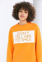 Silence & Noise Silence + Noise Don't Tell Her To Smile Tee